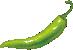 piment vert plat relevé